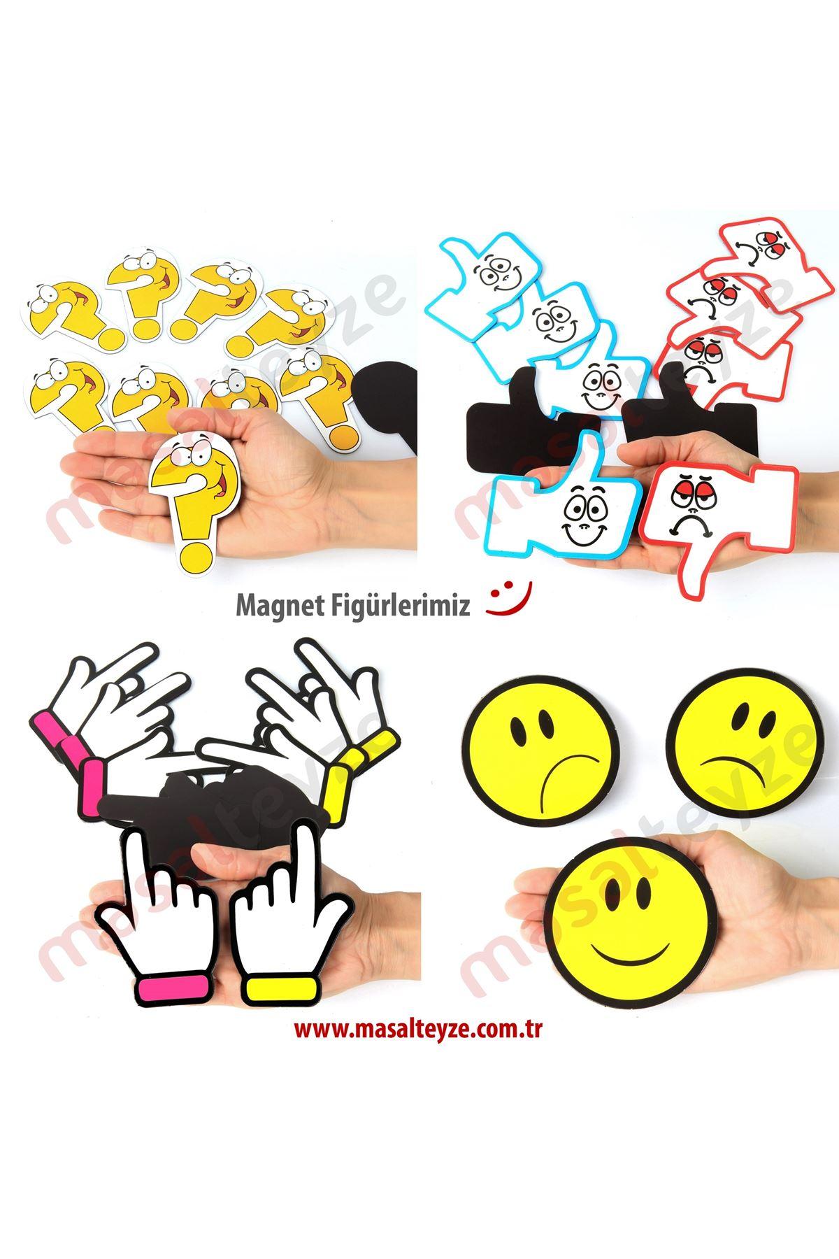 Figür Magnet Set