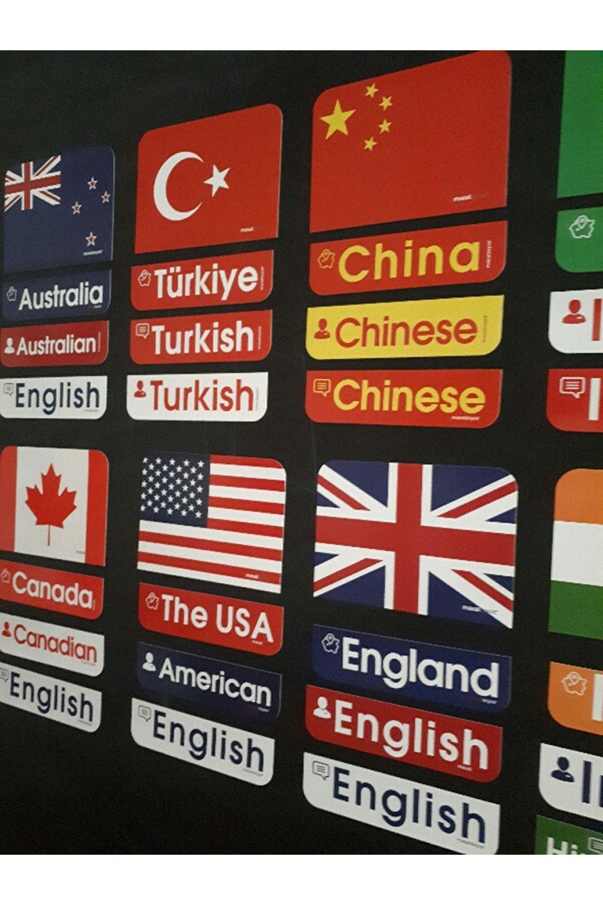 BayraklarMagnetSet 5. Sınıf