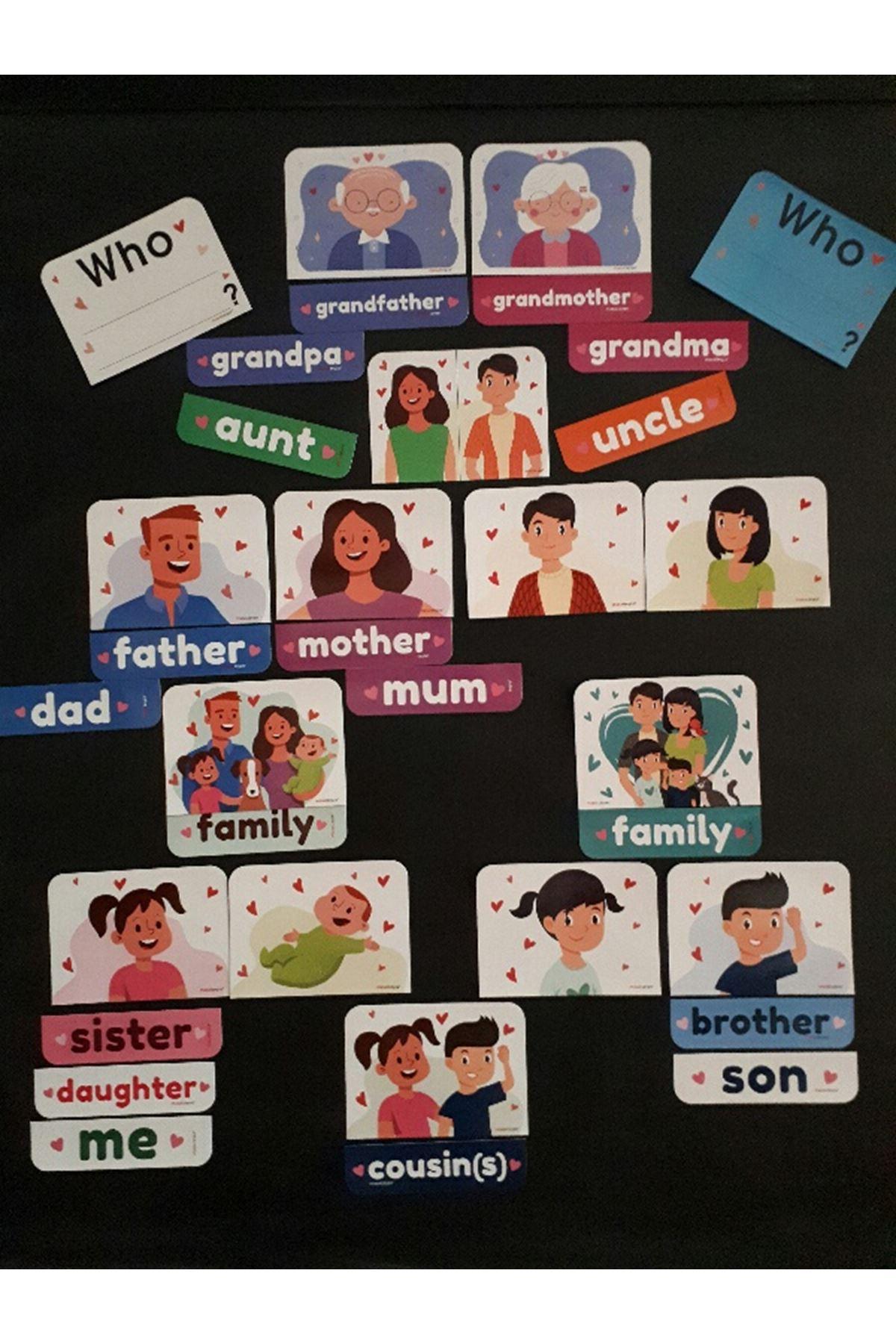 Family Magnet Set