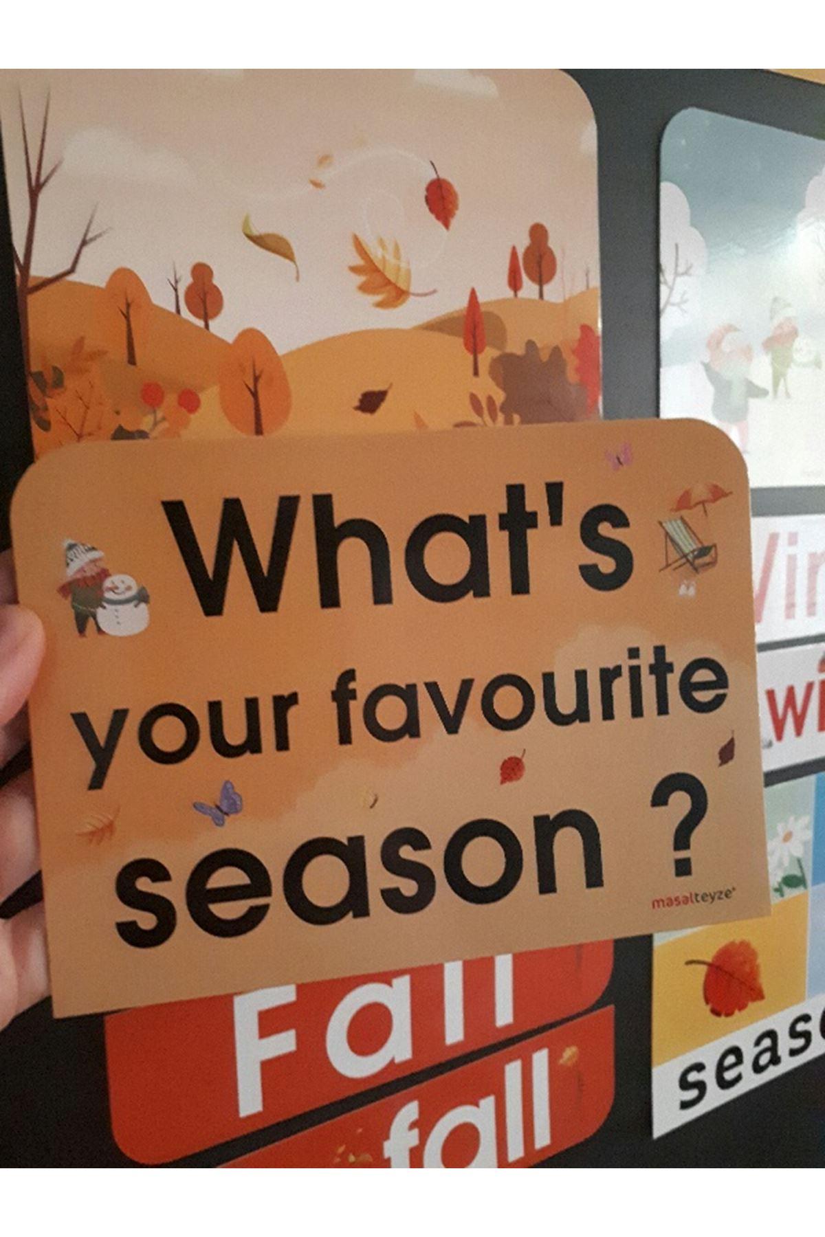 Seasons Magnet Set