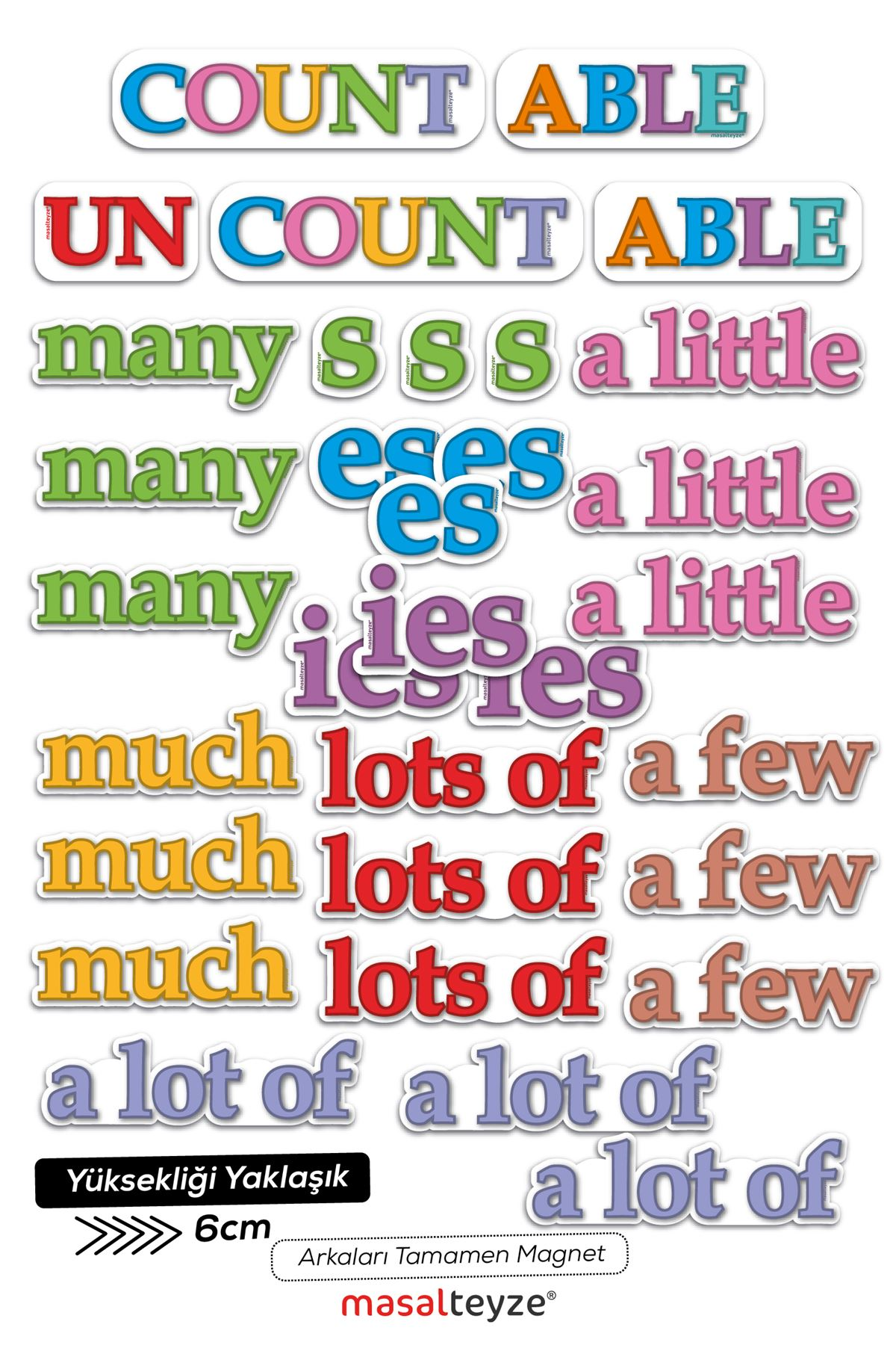 Countable Magnet Set 3'erli