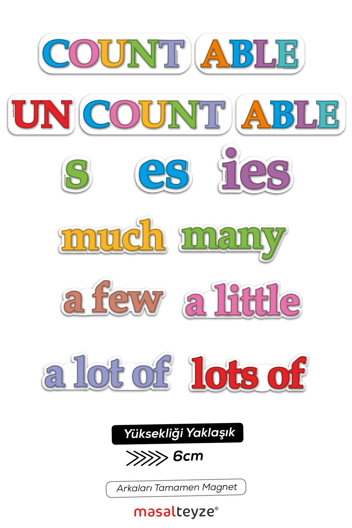 Countable Magnet Set Tekli
