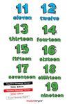 Sayılar 11-19 Magnet set